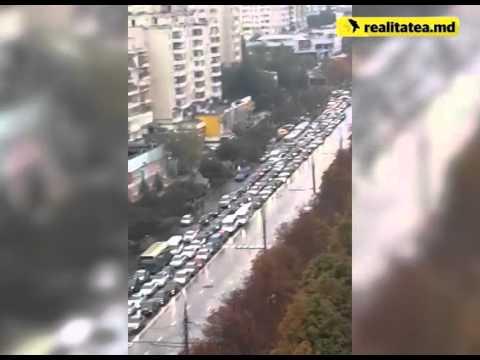 Ambuteiaje bulevardul Moscovei -  13 octombrie 2015