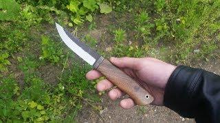 изготовление ножа из быстрореза Р6М5 мехпилы