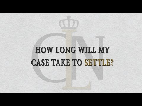 How Long Will My Personal Injury Case Take To Settle? | Clearwater Auto Accident Attorney