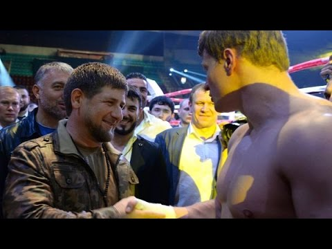 Рамзан Кадыров поздравил Поветкина с победой.НОКАУТ Пересу.Полный бой 23.05.2015