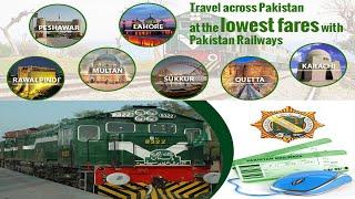 How to Create Pakistan Railway Account For Online Treen Ticket Booking !! Urdu Hindi !! How To Help screenshot 5