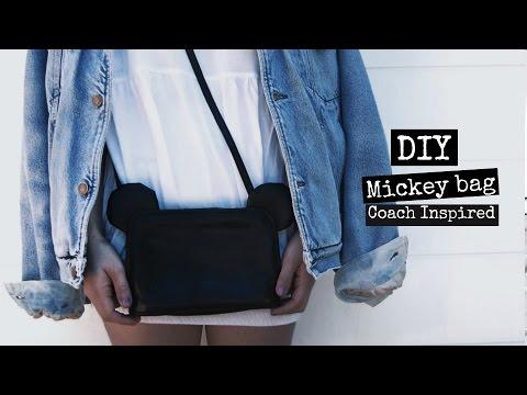 c6cc8e28a108 Youtube Inspired Coach Monica Bolso 3 Diy Beneyto Outfits Mickey TBxWg
