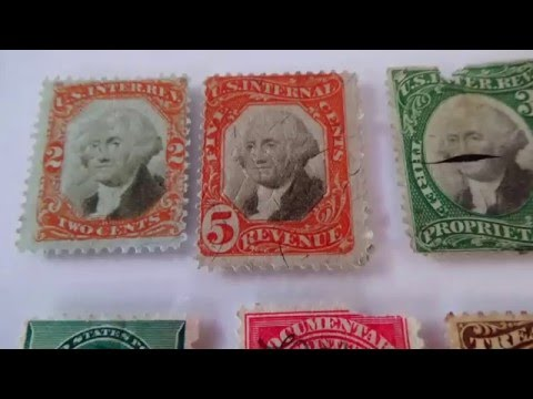1862-1898 U.S. Postage Stamps