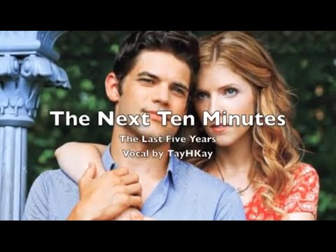 The Next Ten Minutes Karaoke Cover The Last Five Years. Male Part Only
