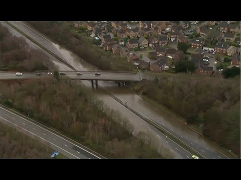 Weather Events 2019 – Christmas getaway floods (UK) – BBC – 20th December 2019