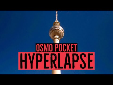 DJI Osmo Pocket Tutorial: Hyperlapse, Timelapse & Motion-Timelapse mit Android und iOS