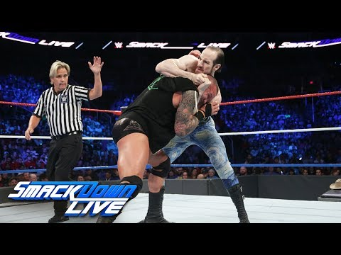 Randy Orton vs Aiden English: SmackDown LIVE, July 4, 2017