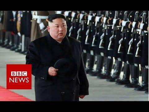 North Korea's Kim Jong-un takes train to China - BBC News