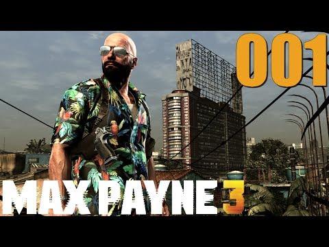 Let's Play Max Payne 3 - #001 - Fazit: Schießen und Cutscenes [German/HD]