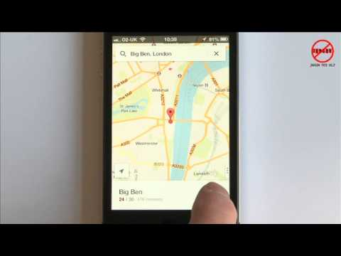 How to Use New Google Maps App for iPhone December 2012