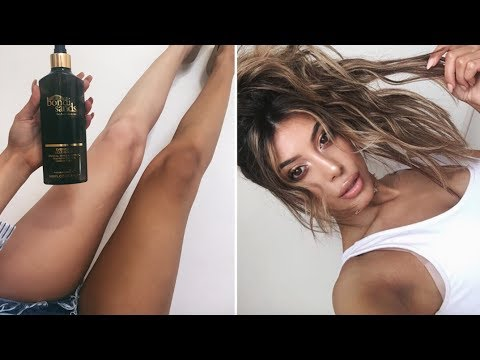 The BEST Fake Tanning Routine!