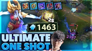 ONE ABILITY ONE KILL | I SHOW YOU MY BALLS | FAKERS NEW SKIN | 1463 AP SYNDRA SUPPORT - BunnyFuFuu
