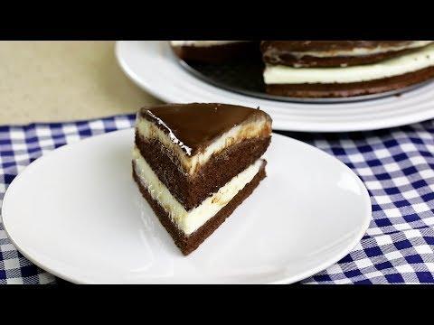 Вопрос: Как приготовить простой шоколадный торт?