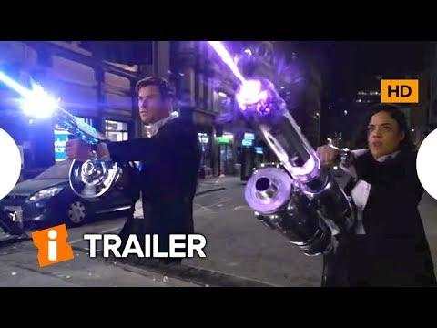 Chris Hemsworth e Tessa Thompson Vestem-se no Primeiro Trailer de MIB: HOMENS DE PRETO - INTERNACIONAL