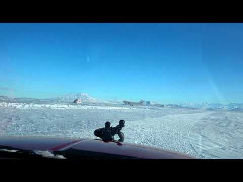AirBus landing at Pegasus Field, Antarctica