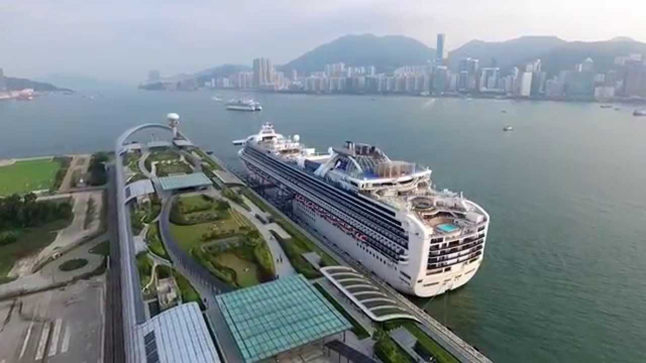 Kai Tak Cruise Terminal With Diamond Princess Amp Hong Kong