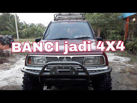 MODIFIKASI VITARA ESCUDO 2WD TO 4WD (4X4)