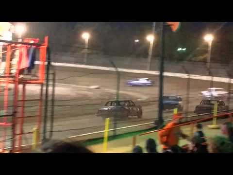 Sycamore Speedway Pure Stock Heat May 3rd 2015