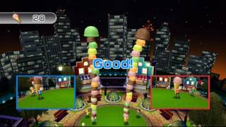 Wii Play Motion: Cone Zone 2 player 60fps