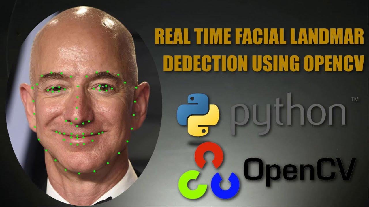 Facial Landmark Detection using OpenCv   Python