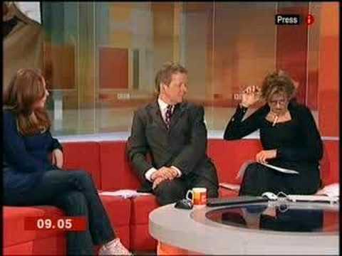 Catherine Tate on BBC Breakfast TV