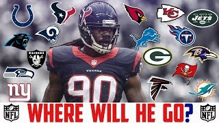 Jadeveon Clowney Free Agency Predictions 2019 - JADEVEON CLOWNEY Texans Rams Lions Titans Packers
