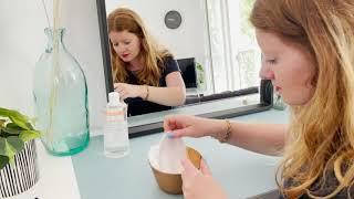 Vidéo: Carrés démaquillants bi-matière: ambou & microfibre, lavables et réutilisables