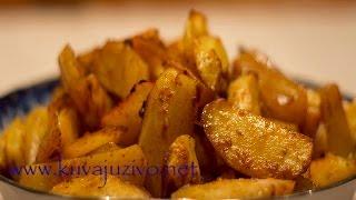 Pečeni krompir- Video recept