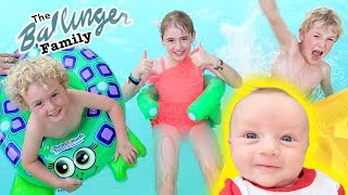 Adorable Ballinger Pool Party!