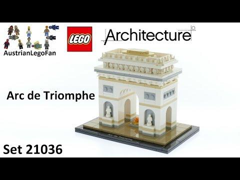 Lego Architecture 21036 Arc de Triomphe - Lego Speed Build Review