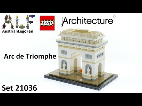 Lego Architecture 21036 Arc de Triomphe - Lego Speed Build Review