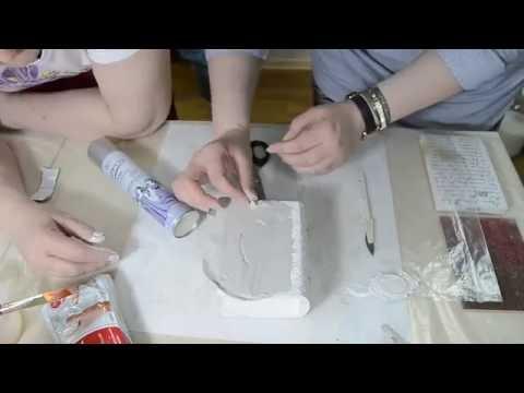 Декупаж шкатулки с распечаткой рисунка (пошагово)