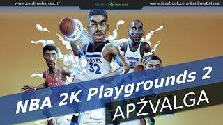 NBA 2K Playgrounds 2 Apžvalga - Krepšinis Kitaip