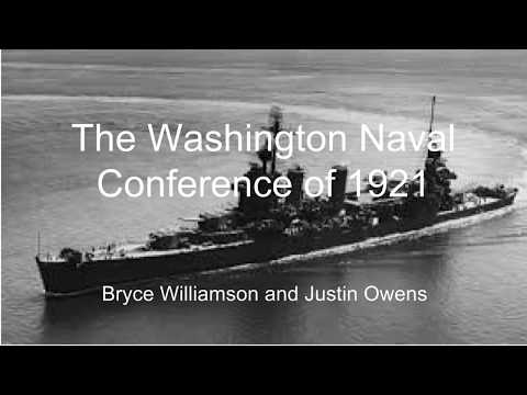 The Washington Naval Conference of 1921 (NHD Regionals)