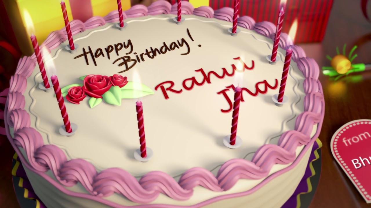 Happy Birthday Rahul Jha Youtube