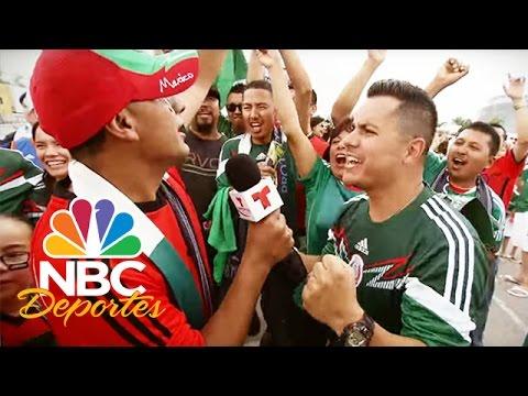 La afición Mexicana camino a la Copa Mundial | Deportes Telemundo | NBC Deportes