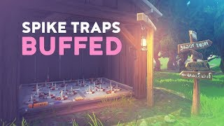 SPIKE TRAPS BUFFED LIKE CRAZY! - ARE THEY TOO MUCH? (Fortnite Battle Royale)