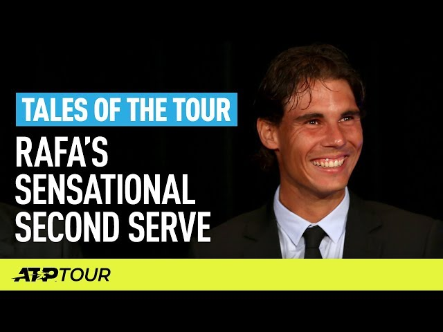 Nadal's Amazing Second Serve Stats | TALES OF THE TOUR | ATP