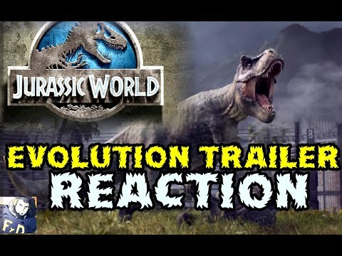 JURASSIC WORLD Evolution Trailer Gamescom 2017 - REACTION -  #PC #XboxOne  #PS4 #rinconkaiju