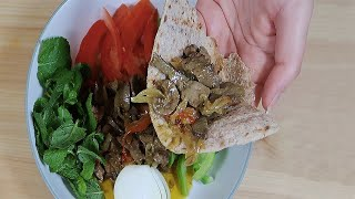جغور بغور محلی دکه ای زنجان Iran Street Food Persian Haggis one of the BEST Zanjan Ethnic Food