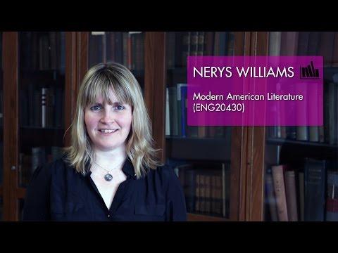 Modern American Literature (ENG20430) - Nerys Williams