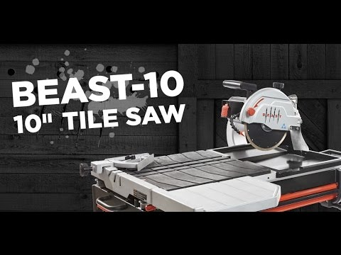 lackmond beast 10 inch wet tile saw review