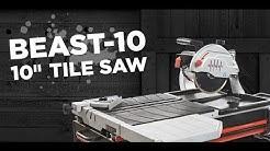 "Lackmond Beast 10"" Wet Tile Saw - Sales Training"