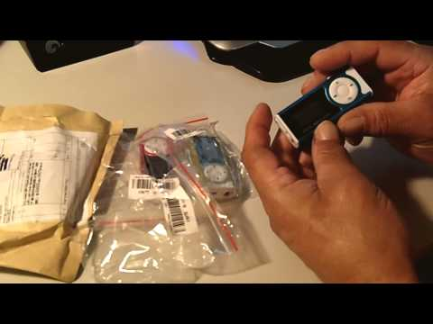 Belt Clip Brushed Aluminum 8GB microSD MP3 Player Review
