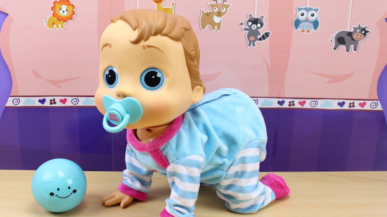 Peke baby imc toys beb que r e gatea juega mu eco for Espejo que habla juguete