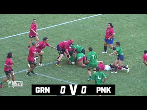 Queensland Women's XV - Queensland Green v Queensland Pink