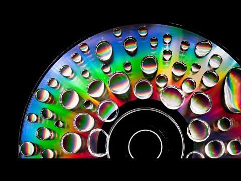 Psychedelic CD Light Painting Photography Tutorial