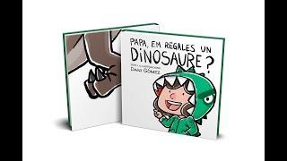 """Bookteaser del llibre """"Papa, em regales un dinosaure?"""""""