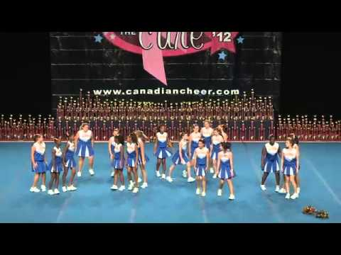CE Cheer for the Cure 2012 - SSNov - Sir Robert Borden SS - Falcons