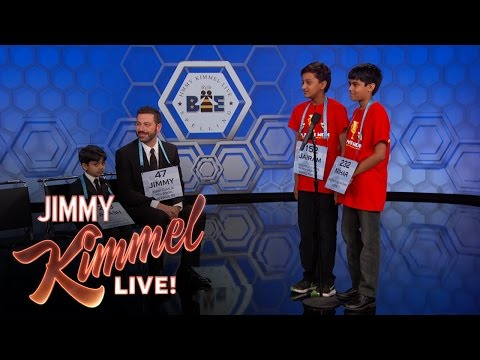 13th Annual Jimmy Kimmel Live Spelling Bee